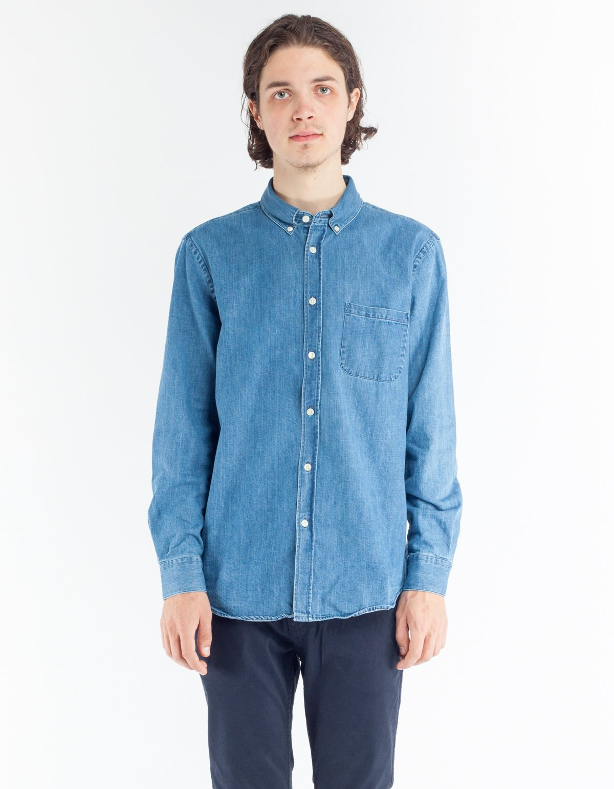 Portuguese flannel ganga shirt denim 2 wash garmentory for How to wash flannel shirts