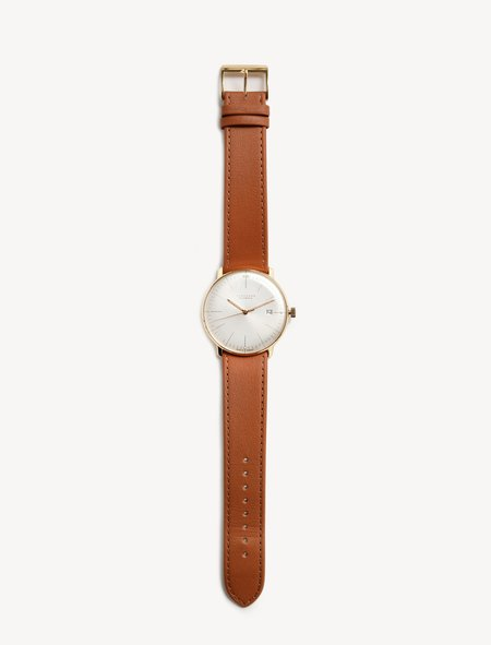 Junghans Max Bill Automatic - Gold/Tan Leather