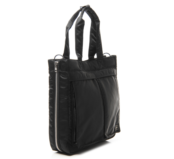 Porter Black Tanker Two Way Tote  352b5b1f70d0a