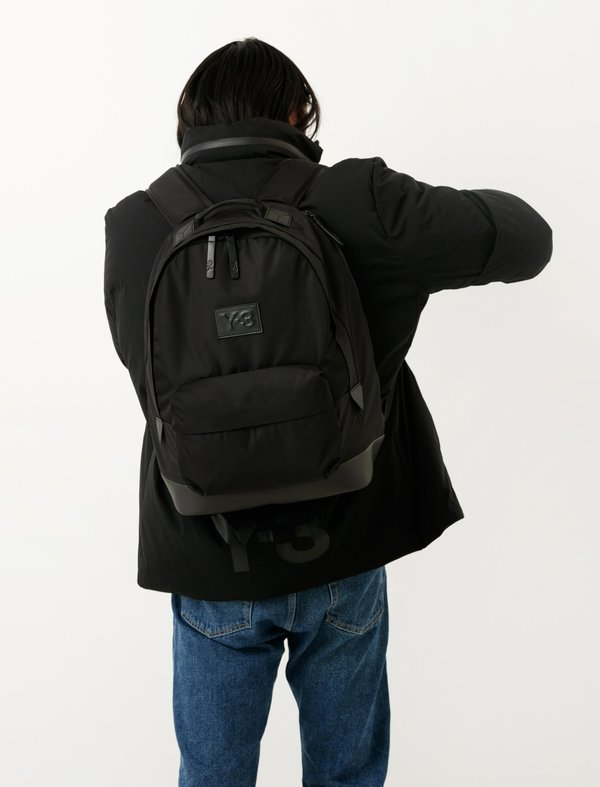 7391746dda1d Y-3 Techlite Backpack - Black