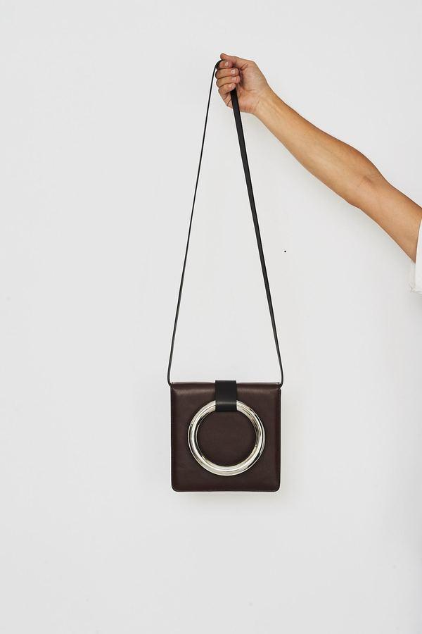 Persephoni Leather Clutch/Shoulder Bag 22