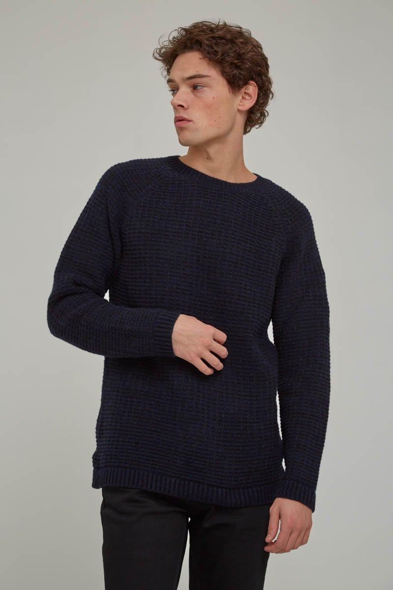 Nudie Jeans Mens Hans Structure Knit