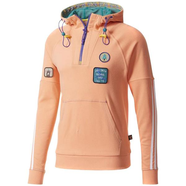 c8869d97f ADIDAS ORIGINALS BY PHARRELL WILLIAMS HU HIKING HOODED SWEAT   SUN GLOW.  sold out. Adidas