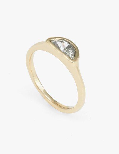 Kathryn Bentley Diamond Halfmoon Ring