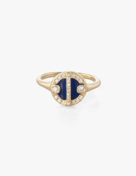 Kathryn Bentley Lorca Ring - blue