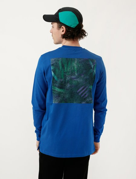 Cottweiler Mens Ghillie Long Sleeve - Cobalt