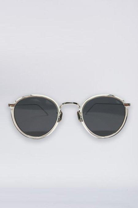 Eyevan 7285 Acetate 717 Sunglasses - Clear