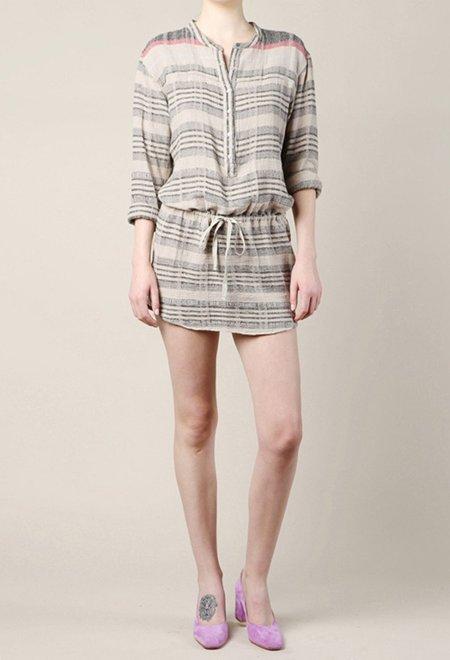 Xirena Daryl Dress - Khaki Stripe