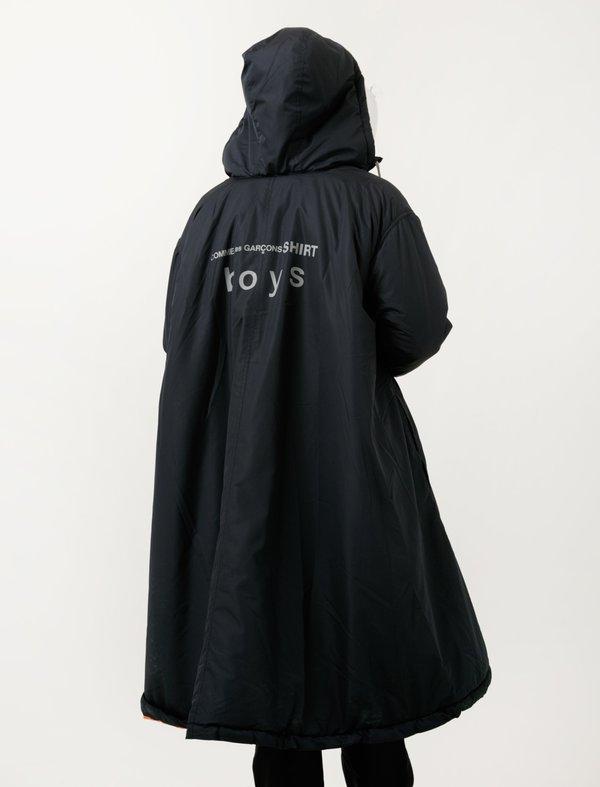 size 7 price reduced release date Comme des Garçons Logo Parka - Navy