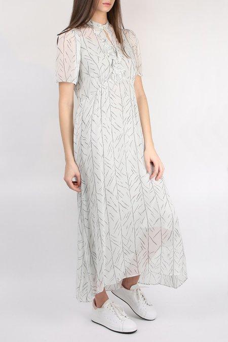 Lee Mathews Farrah Ruffle Dress