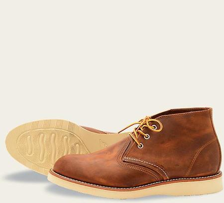 Red Wing Shoes Red Wing Heritage Work Chukka #3137 // Copper Rough & Tough Leather
