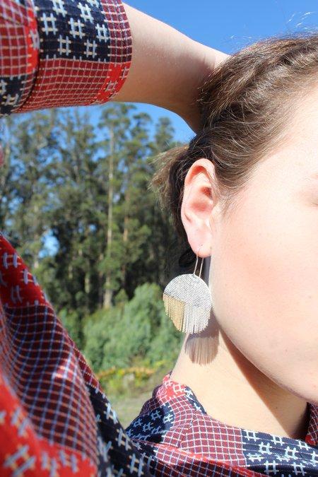 Hannah K Lollipop Earrings - sterling silver