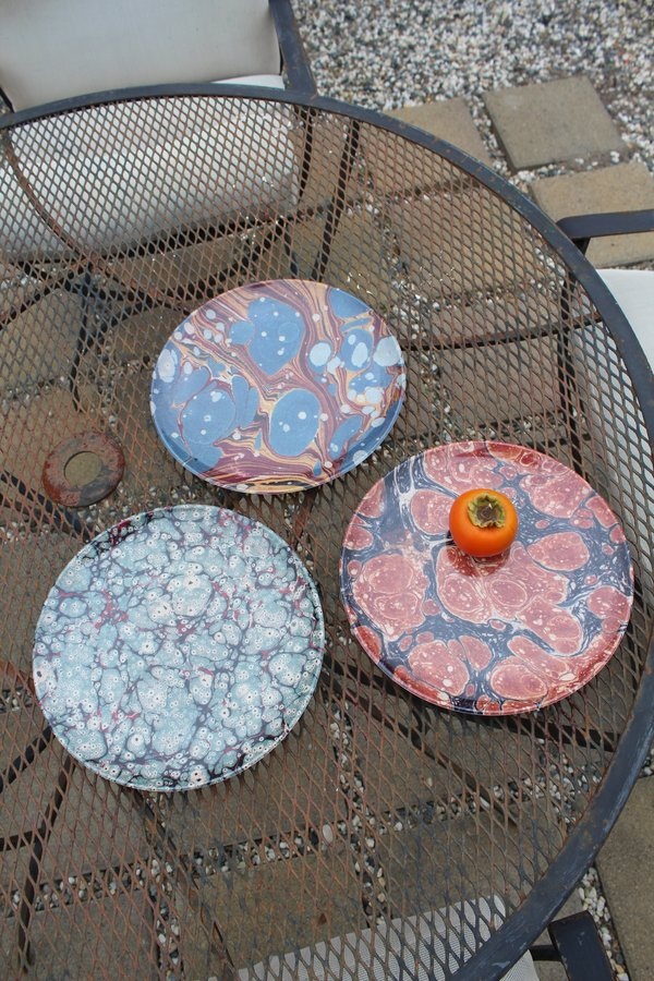 Siren Song Marble Plate Set