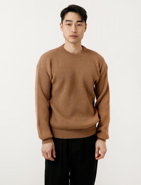 CristaSeya Camel Hair Sweater 1 Yarn - brown