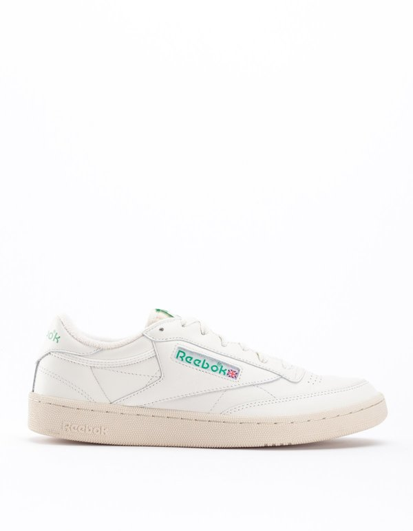e798583d091 Reebok Club C 85 Vintage Chalk Paperwhite - Glen Green