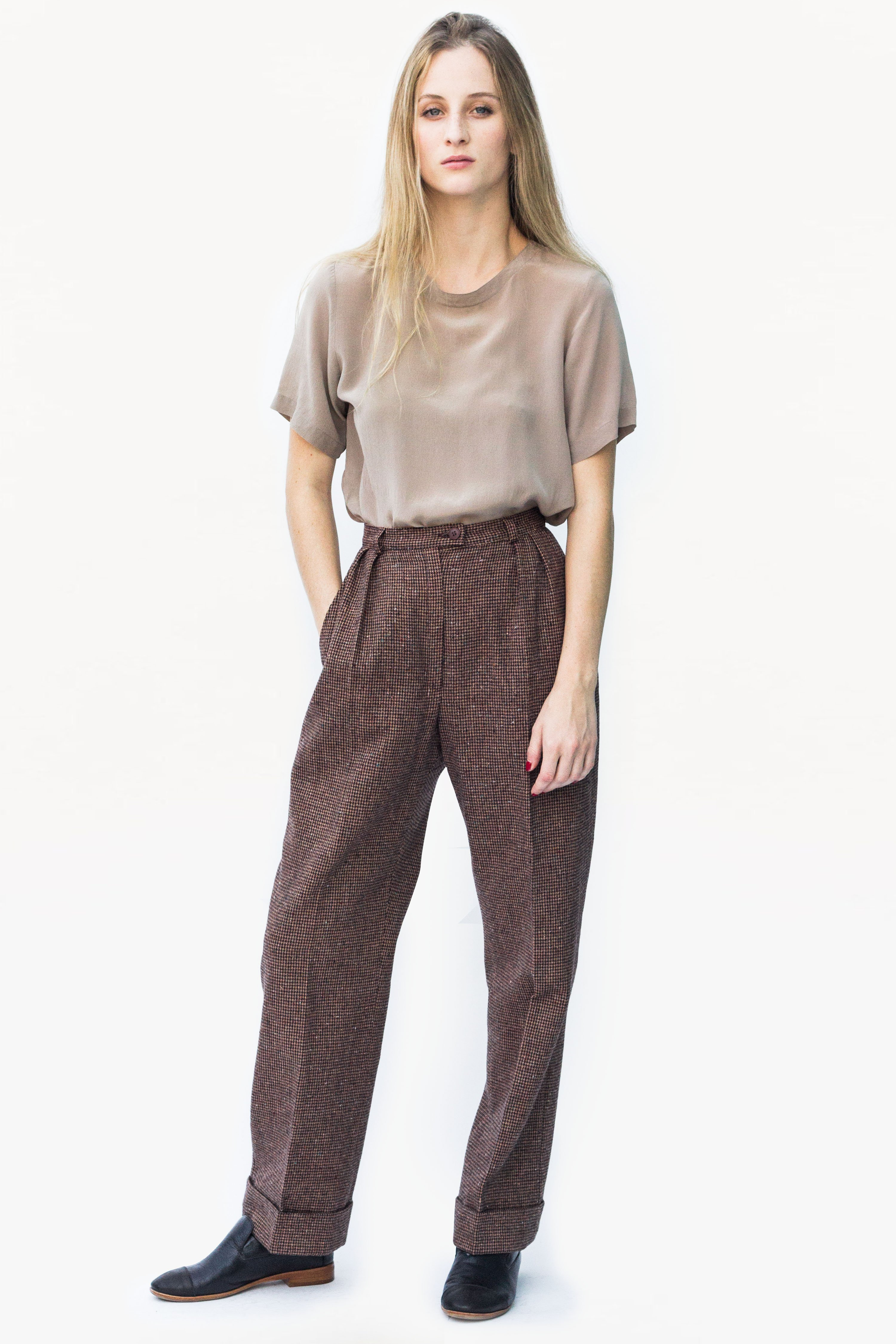 Vintage Wool Pendleton Trousers