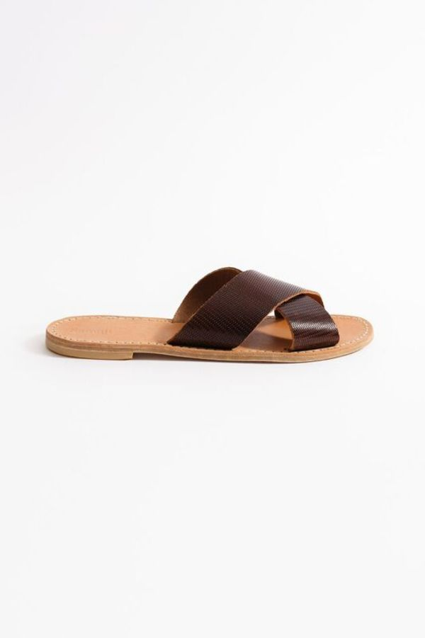 Samuji CROSS STRAP SANDALS