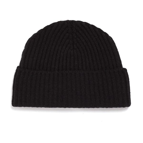 64e26202c98 Unis Lambswool Knit Hat - Black