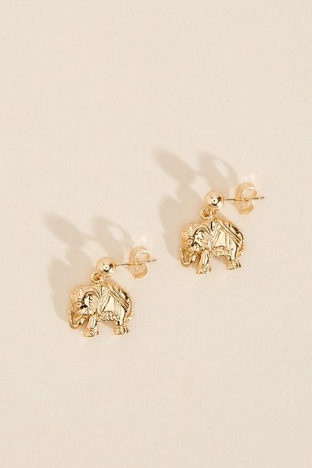 Haati Chai Ellie Earrings - 14k gold