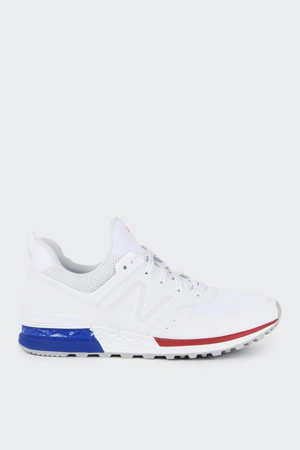 free shipping 9b3df fa0c1 New Balance 574 Sport MS574SCN - white/red/blue on Garmentory