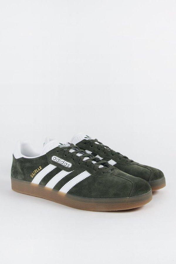 info for 4b1b3 47560 Adidas Originals Gazelle Super - green gum