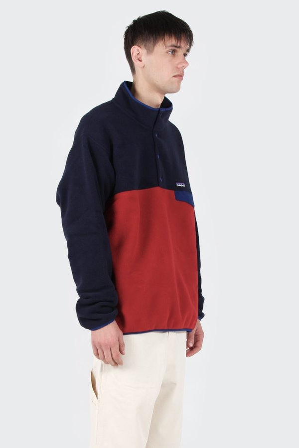 c75f0e7ddfe Patagonia Lightweight Synchilla Snap-T Fleece Pullover - Classic red. sold  out. Patagonia