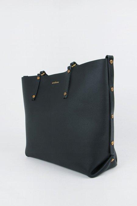 hidden Shopper Tote Bag - black