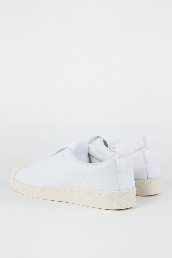 on sale a7534 39ee6 Adidas Originals Superstar BW3s Leather Slip On - white/white