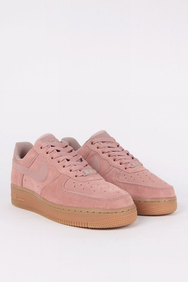 Nike Air Force 1' 07 SE Suede Women's Shoe Olive