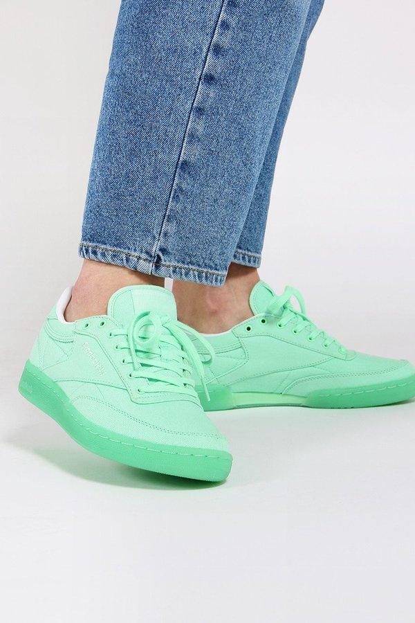 e0cd9aa5585 Reebok Club C 85 Canvas - mint green white. sold out. Reebok · Shoes