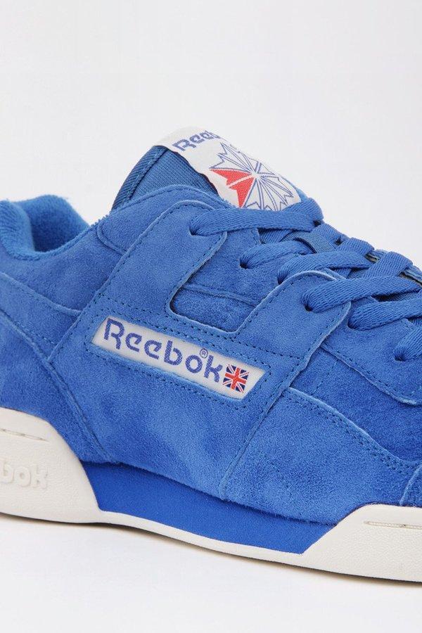 3748f56f8e4 Reebok Workout Plus Vintage - Awesome blue chalk classic white ...