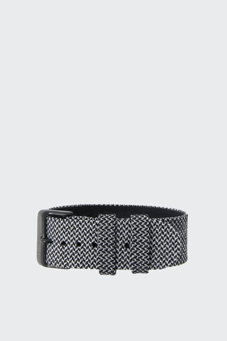 TID Watches Wristband - twain granite/black buckle