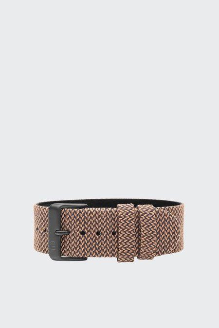 TID Watches Wristband - twain rust/black buckle