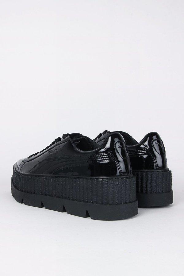 Puma X Fenty Pointy Creeper black patent