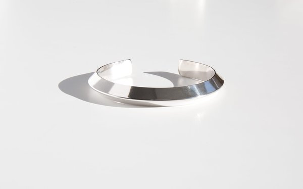 Another Feather Rivel Cuff - Silver