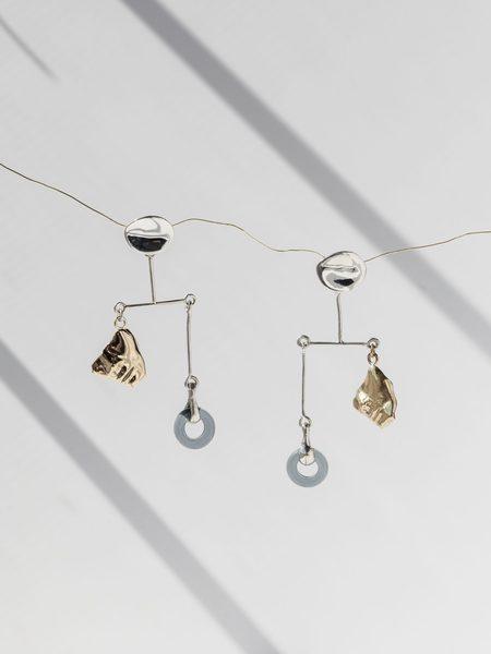 FARIS PORTRA Mobile Single Earring