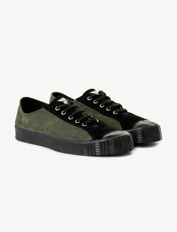 3aef48cb2769 Comme des Garçons Spalwart Special Low Sneakers - Olive