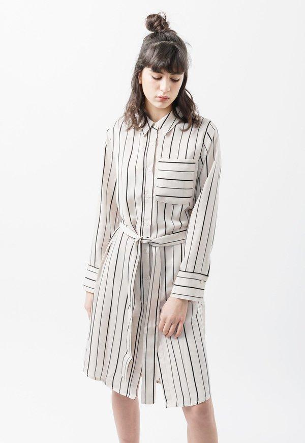 Among Stripe Robe Shirt - Stripe