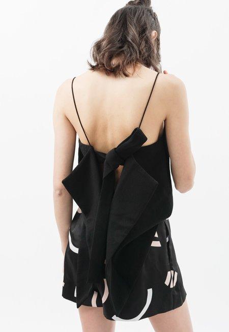 C/MEO Pleat Short - black