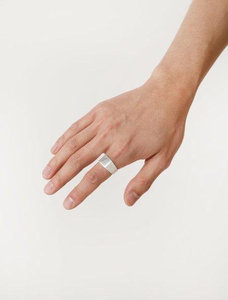 All Blues Platform Ring - Silver