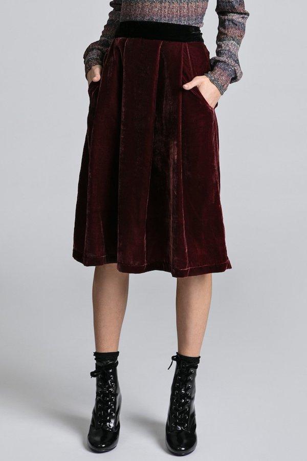 Allison Wonderland Cross Skirt
