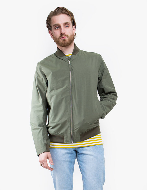a24775cda Norse Projects Ryan Crisp Cotton Jacket - Dried Olive on Garmentory