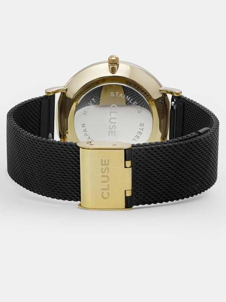 CLUSE THE BOHEME watch - GOLD / BLACK / BLACK