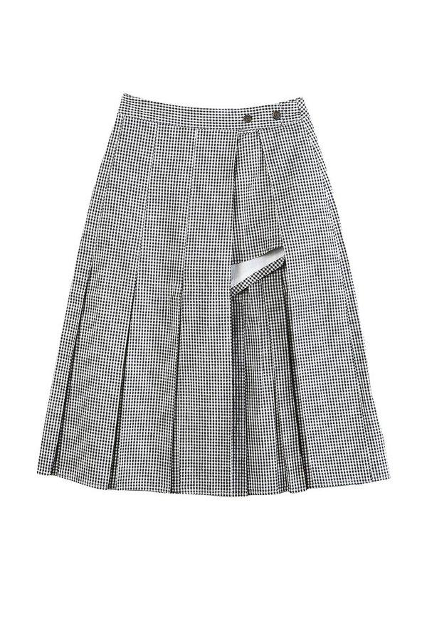 04528c1a75 Sandy Liang Uniform Gingham Skort | Garmentory