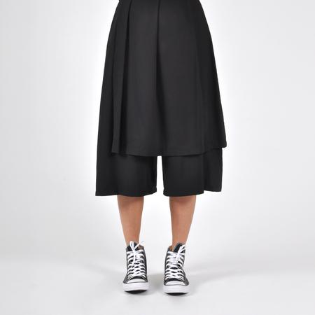 Wolcott : Takemoto Jane Skirt-Pant - Black