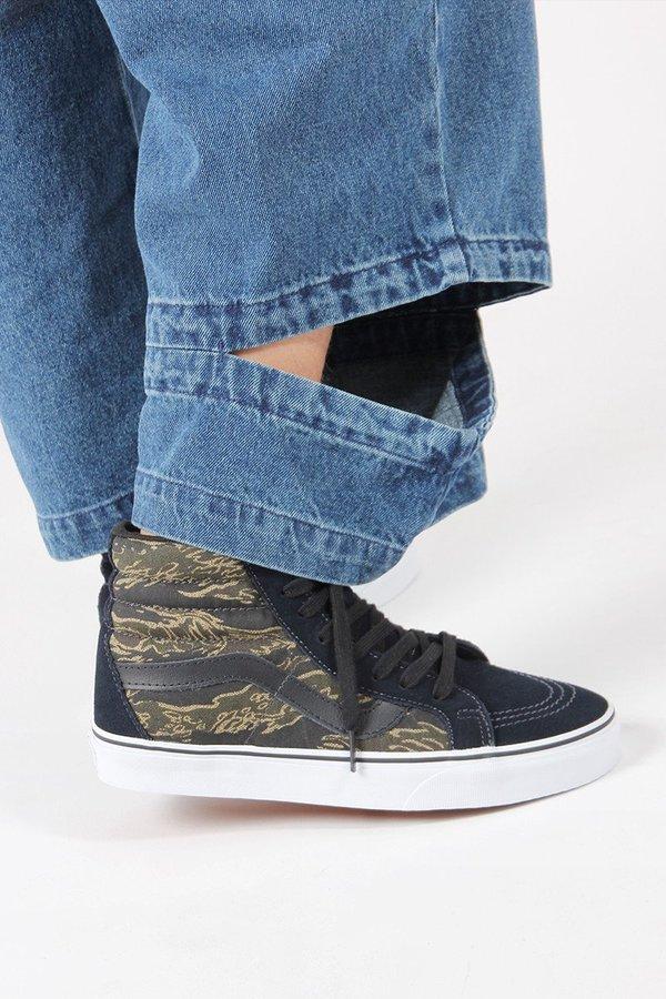b88042a290 VANS SK8 Hi Reissue - vintage camo dark navy. sold out. VANS · Shoes
