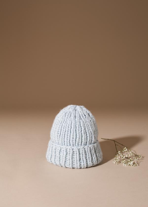 e2eda363a12 Tsuyumi Baby Alpaca Blend Knit Hat - Mint. sold out