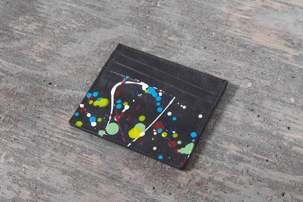 Negro Splatter Portatarjetas Paint Maison Margiela qIxaYwxR