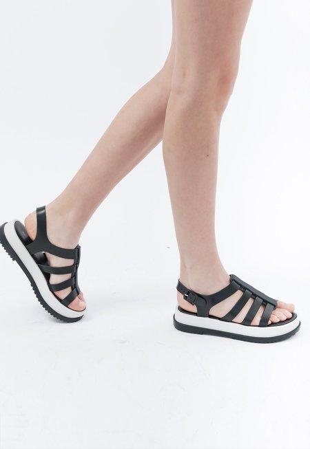 Melissa Flox Flatform Sandals - Black