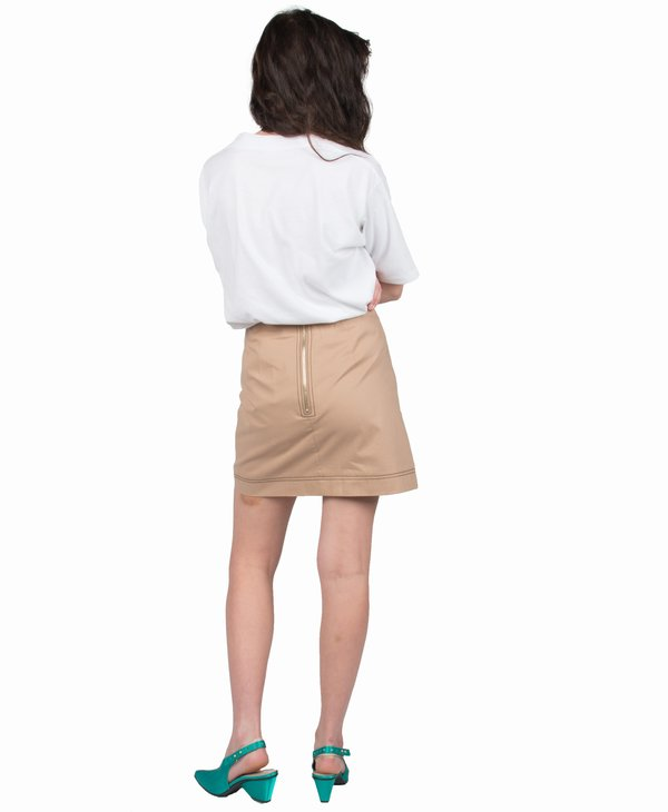 Ganni Philips Cotton Skirt